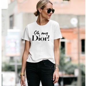 Oh My Dior shirt